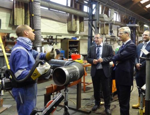 ECITB Chief Executive visits Pruce Newman