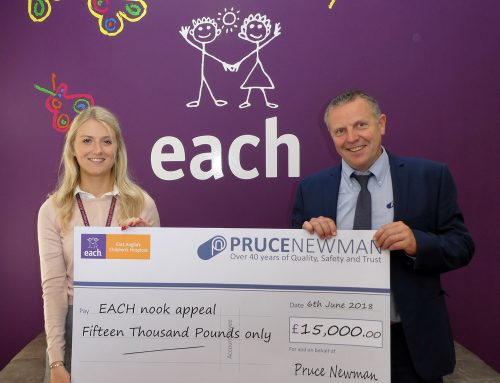 Pruce Newman smashes charity fundraising target
